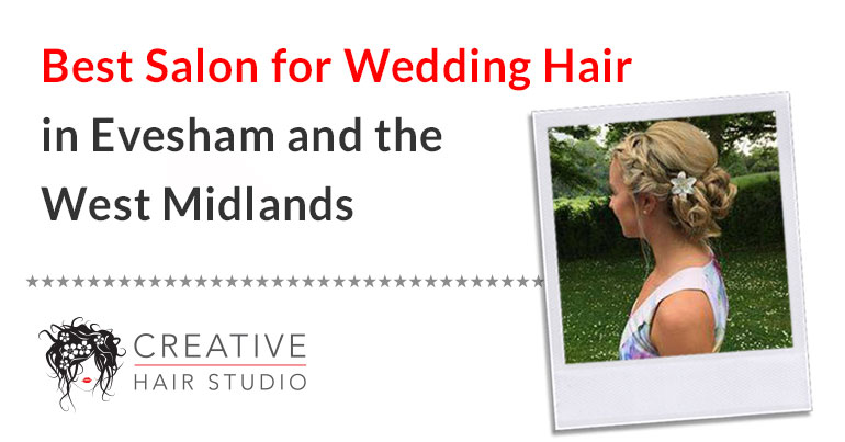 wedding hair evesham west midlands