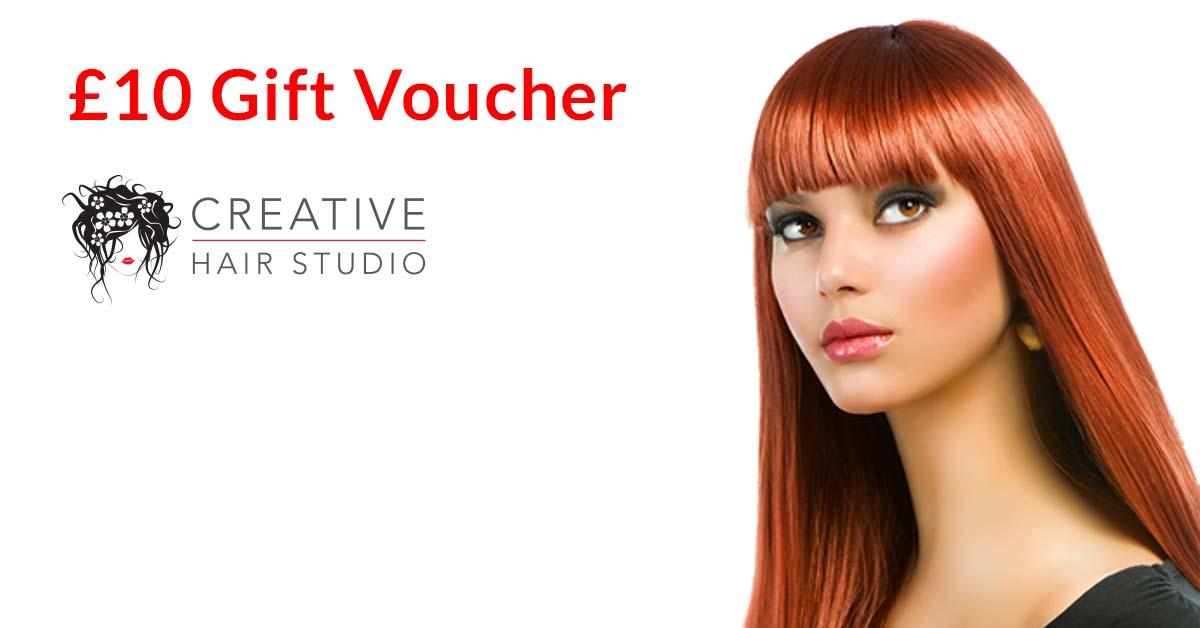 evesham hairdressers gift voucher