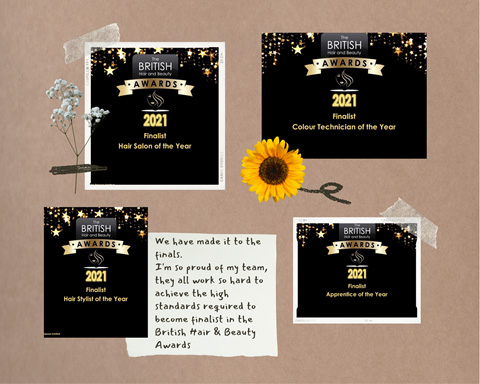 Award winning Salon Evesham
